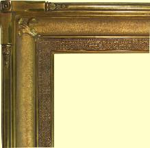 Custom 22k Gold leaf picture frame, water gilt antique reproduction