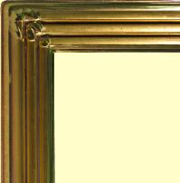 Modern 22k Gold Leaf picture frame, water gilt by goldleafers