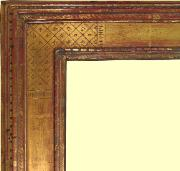 Custom Antique reproduction Harer Gold Leaf picture frame, 22k goldleaf