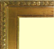 Hand carved 22k Gold Leaf Frame, water gilded with genuine goldleaf