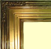 Hand-carved 22k Gold Leaf picture frame, water gilding gilt goldleaf