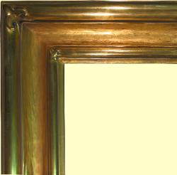 Hand carved 22k Gold Leaf cove frame,  water gilt goldleaf gilded